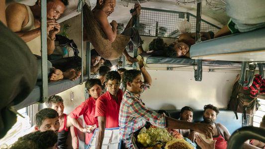 A vida a bordo da mais longa viagem de trem da Índia
