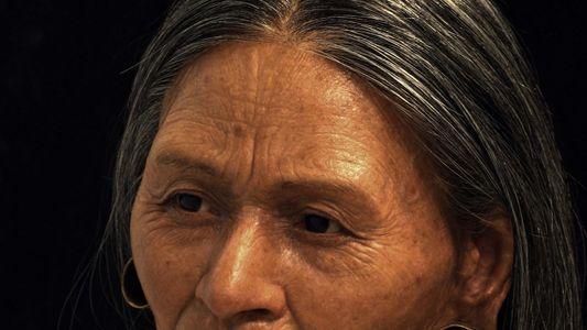 Passo a passo da reconstrução do rosto da Rainha Huarmey