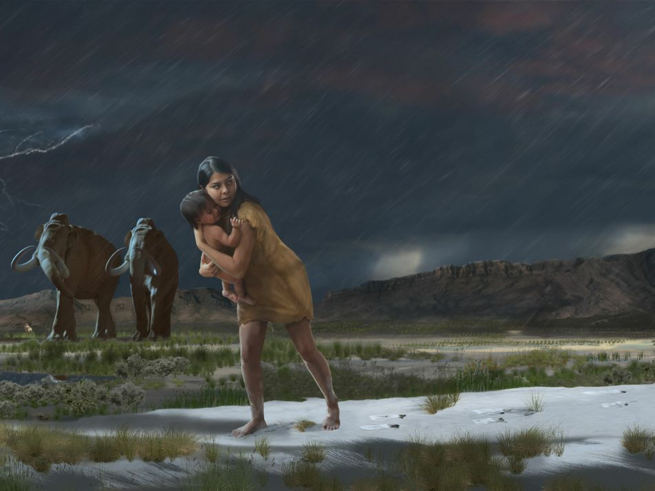 Fósseis de pegadas revelam detalhes incríveis de uma caminhada realizada há 10 mil anos