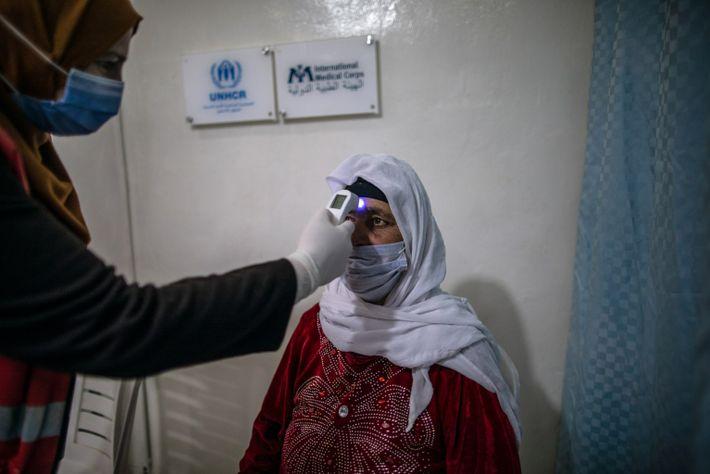 Zaatari Refugee Camp: Vaccination Center