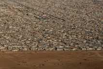 Zaatari Refugee Camp- aerial view 2