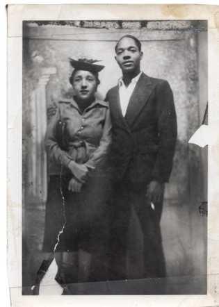 Retrato de Clara e Thomas, filhos de Joe Crear.