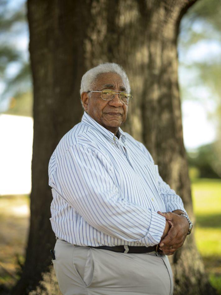 """O neto de Matilda, Johnny Crear, participou ativamente da luta pelos direitos civis em Selma. """"As ..."""