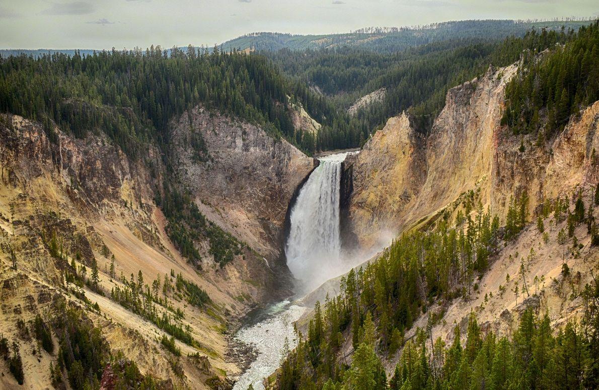 Upper Yellowstone Falls, Wyoming